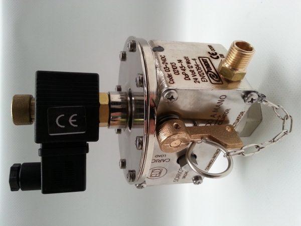 Cap.14 cod.03-24DC Electric manual actuator